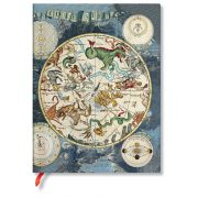 Paperblanks FLEXIS notesz, füzet Celestial Planisphere ultra vonalas 176 old.