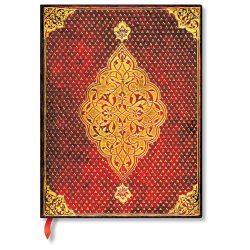 Paperblanks butikkönyv Golden Trefoil ultra vonalas