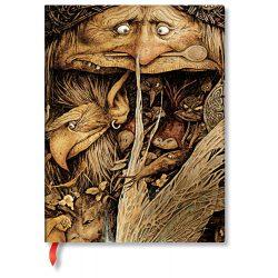 Paperblanks butikkönyv Mischievous Creatures ultra vonalas