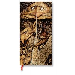 Paperblanks butikkönyv Mischievous Creatures slim vonalas