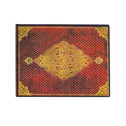 Paperblanks Golden Trefoil vendégkönyv vonalas