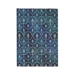Paperblanks butikkönyv Blue Velvet midi vonalas