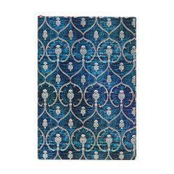 Paperblanks butikkönyv Blue Velvet mini vonalas
