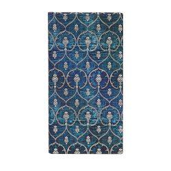 Paperblanks butikkönyv Blue Velvet slim vonalas