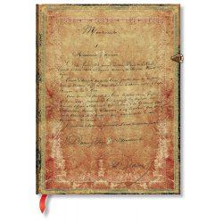 Paperblanks butikkönyv Dumas' 150th Anniversary ultra vonalas