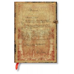 Paperblanks butikkönyv Dumas' 150th Anniversary midi üres