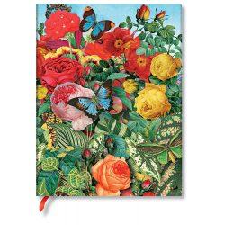 FLEXIS notesz, füzet Butterfly Garden ultra üres 176 old.