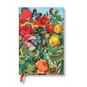 Paperblanks FLEXIS notesz, füzet Butterfly Garden mini üres 208 old.