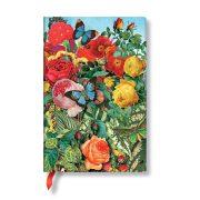 FLEXIS notesz, füzet Butterfly Garden mini üres 208 old.