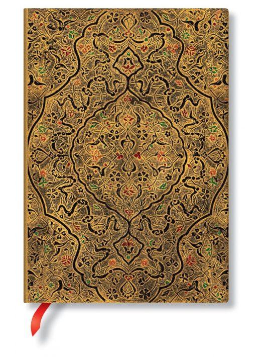 Paperblanks FLEXIS notesz, füzet Zahra midi üres 176 old.