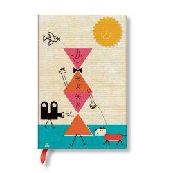Paperblanks FLEXIS notesz, füzet Hound Dog mini vonalas 208 old.