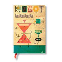 Paperblanks FLEXIS notesz, füzet Come Together mini vonalas 208 old.