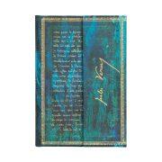 Paperblanks butikkönyv Verne, Twenty Thousand Leagues mini vonalas