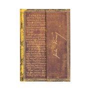 Paperblanks butikkönyv Verne, Around the World mini vonalas