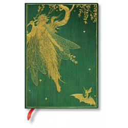 Paperblanks butikkönyv Olive Fairy midi vonalas