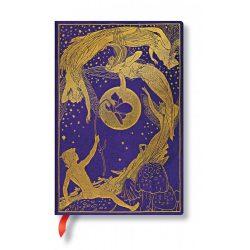 Paperblanks butikkönyv Violet Fairy mini vonalas