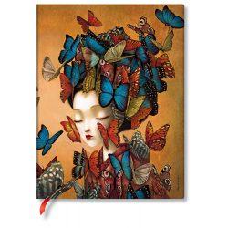 Paperblanks butikkönyv Madame Butterfly ultra vonalas