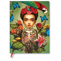 Paperblanks butikkönyv Frida ultra vonalas