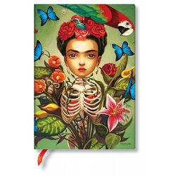 Paperblanks butikkönyv Frida midi vonalas