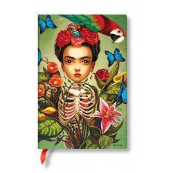 Paperblanks butikkönyv Frida mini vonalas