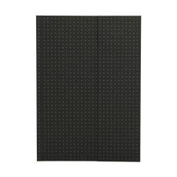 Paper-Oh Circulo Black on Grey A5 üres