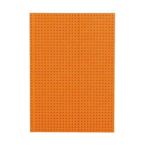 Paper-Oh Circulo Orange on Grey A5 üres