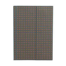 Paper-Oh Circulo Grey on Orange A6 vonalas
