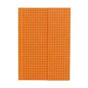 Paper-Oh Circulo Orange on Grey A6 vonalas