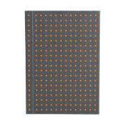 Paper-Oh Circulo Grey on Orange A7 üres