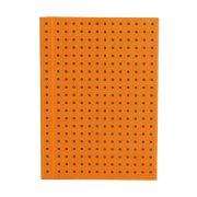 Paper-Oh Circulo Orange on Grey A7 üres