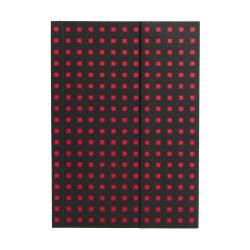 Paper-Oh Quadro Black on Red B6 vonalas
