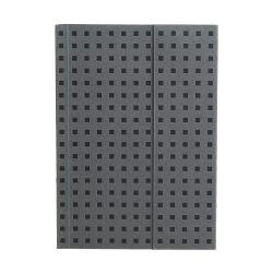Paper-Oh Quadro Grey on Black B6 üres