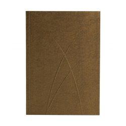 Paper-Oh Puro Bronze A5 vonalas