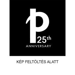Paper-Oh Cahier Circulo Black on Grey / Black on Grey A4 kockás