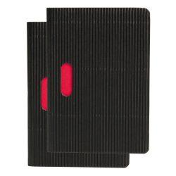 Paper-Oh Cahier Ondulo Black / Black B7 kockás