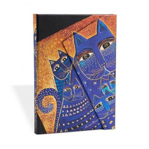 Paperblanks butikkönyv Mediterranean Cats midi vonalas